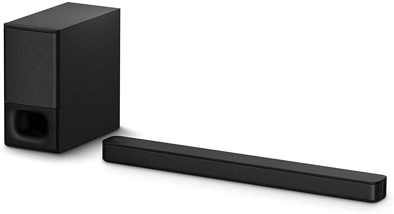 Sony HT-S350 Soundbar with Wireless Subwoofer: S350 2.1ch Sound Bar and Powerful Subwoofer - Home Theater Surround Sound Speaker System for TV -